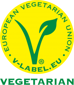 V-Label logo vegetarián